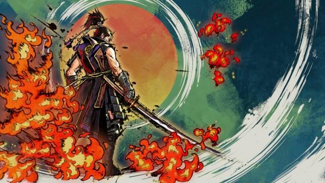 Samurai Warriors 5 Cutscene art