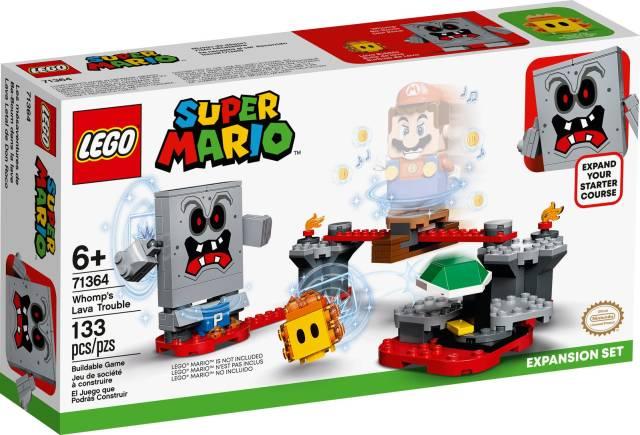 LEGO Mario Uitbreidingsset Whomps lavafort