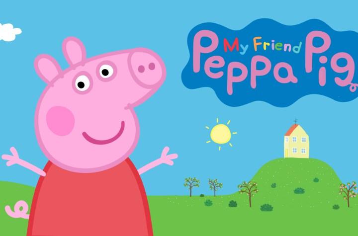 My friend Peppa Pig keyart