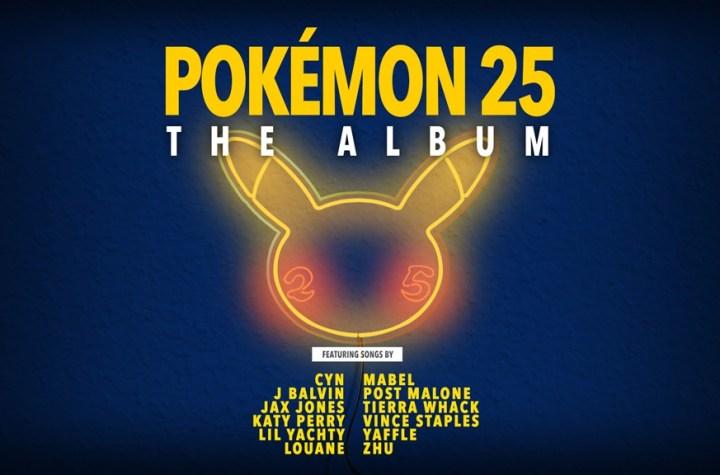 Pokémon 25 the album art