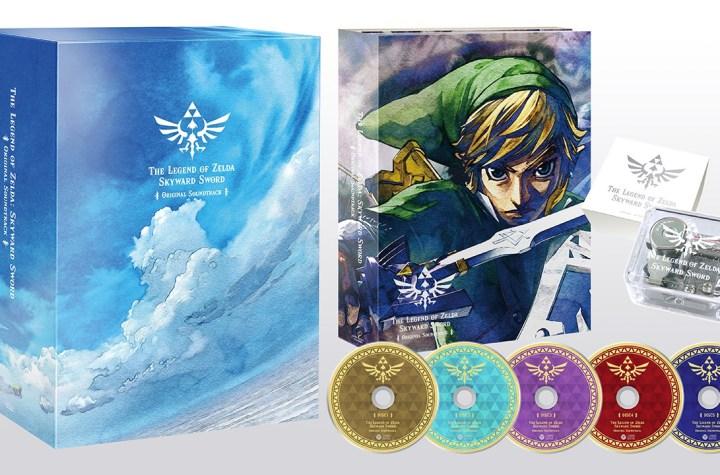 The Legend of Zelda Skyward Sword first press limited editie