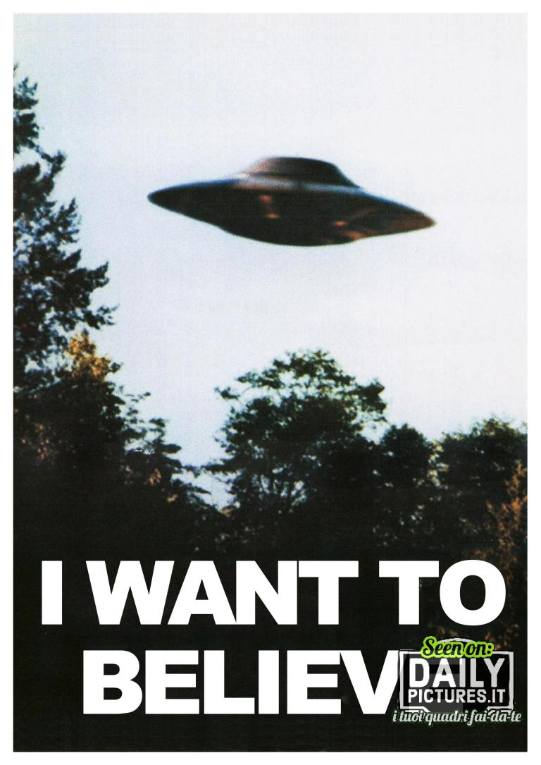 I Want To Believe - XFiles