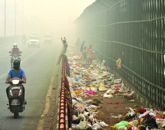 Delhi pollution 3-yr high