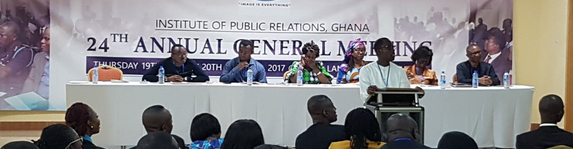 The next generation of PR pros: IPR, Ghana can aid you, but your future is in your hands