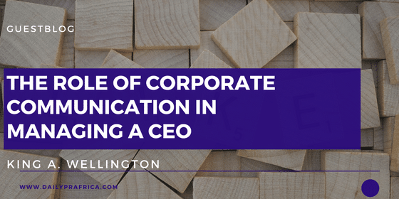 The Role of Corporate Communication in Managing a CEO
