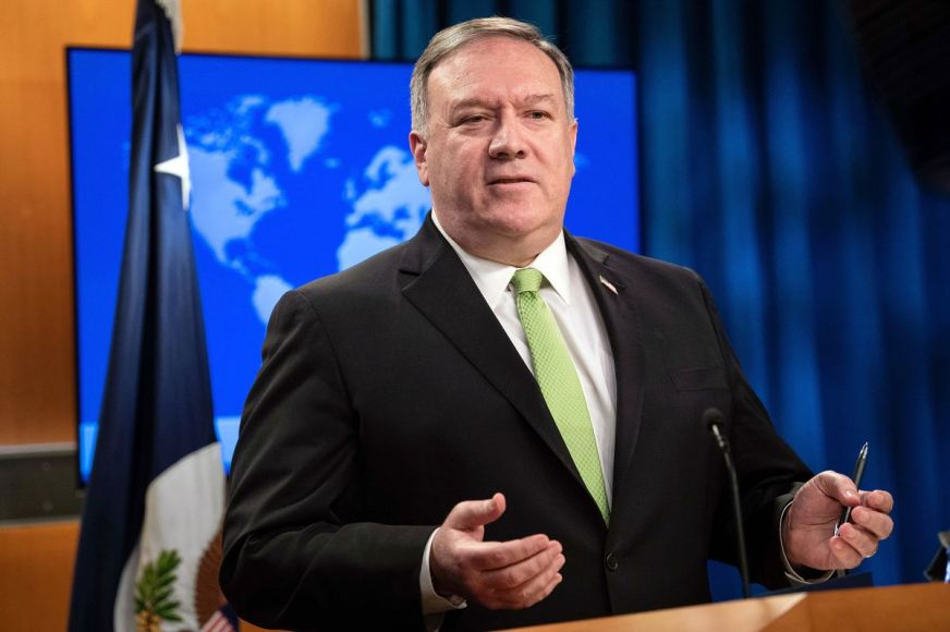 Mike Pompeo defends firing of inspector general, calls ...