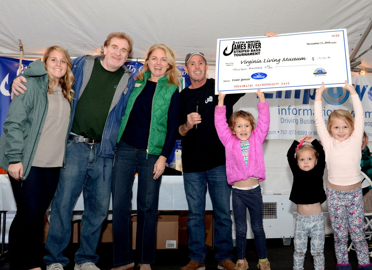 Virginia Living Museum Receives 13 000 From James River