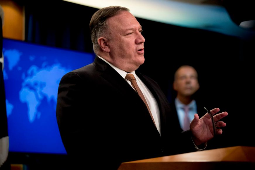 Secretary of State Mike Pompeo downplays possibility of ...