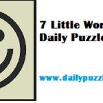 7 Little Words Answers - November 20, 2018