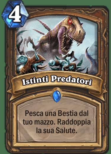 hs istinti predatori
