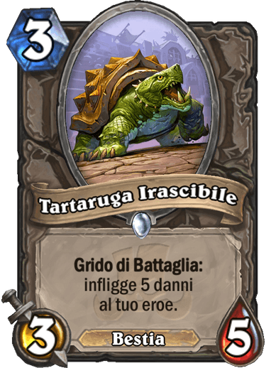hs tartaruga irascibile