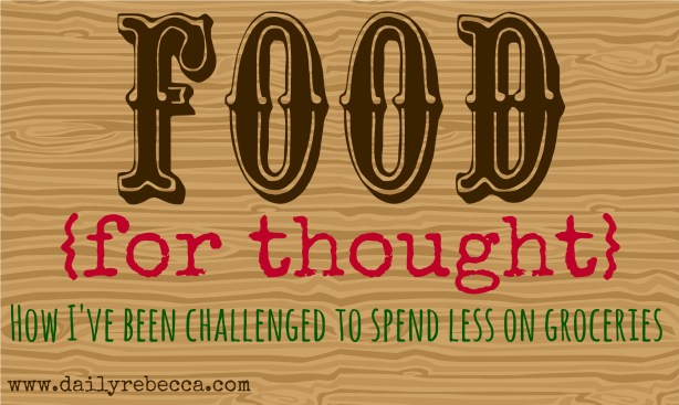 Food For Thought Blog Post