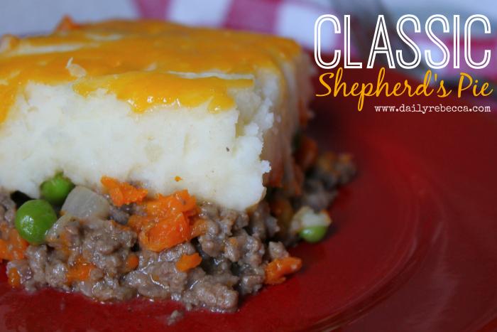 Classic Shepherds Pie