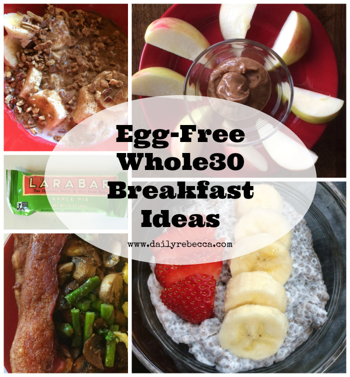 egg free whole 30 breakfast ideas