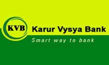 Manager Scale II recruitment in Karur Vysya Bank 2017