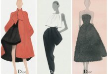 Dior by Swedish Illustrator