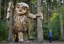The Trolls of Danish Artist Thomas Dambo