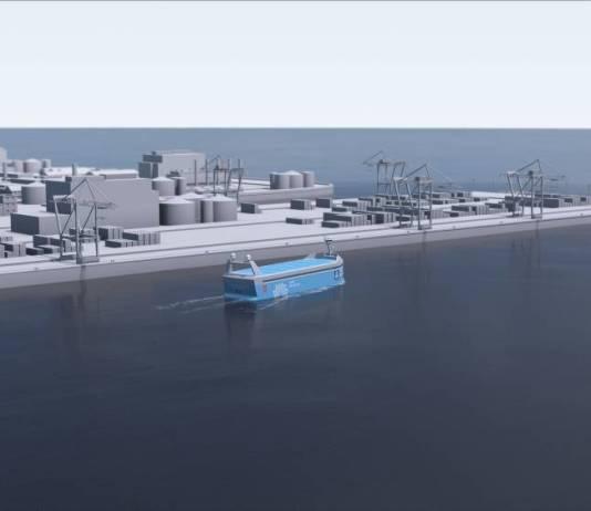 Norwegian Zero Emissions Ship Without Crew