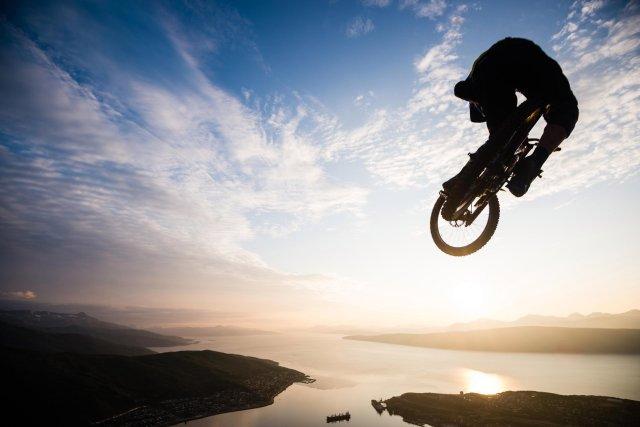 High Mountain Biking in Northern Norway