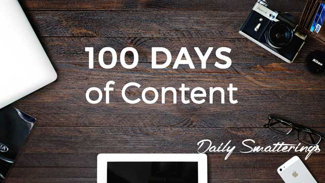 100-Days-of-Content