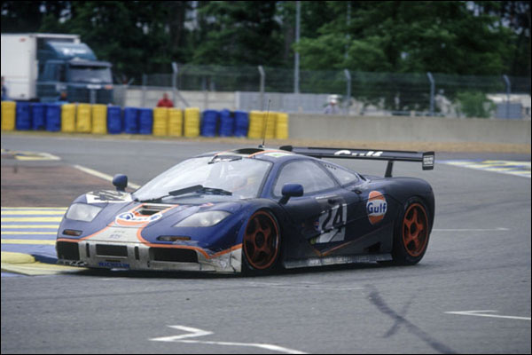 Famous Five 1995 McLaren F1 GTRs Return To Le Mans