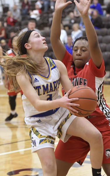 St. Marys vs Shawnee girls basketball Photo Album | The ...