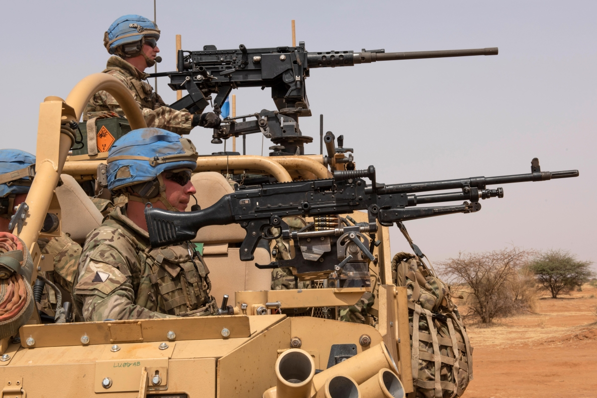British troops kill two 'terrorists' in Mali in first gun battle since end of combat in Afghanistan