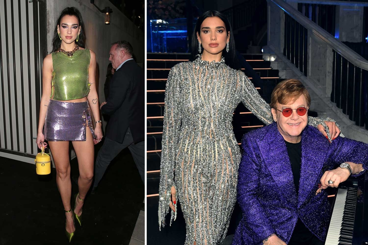 Dua Lipa and Elton John unveil new plans for UK's Eurovision Song Contest entry next year