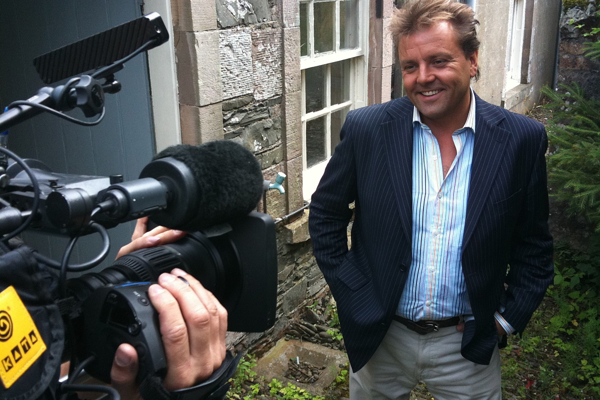 I've been left crying, battered and bruised by my secret new show, reveals Homes Under The Hammer's Martin Roberts