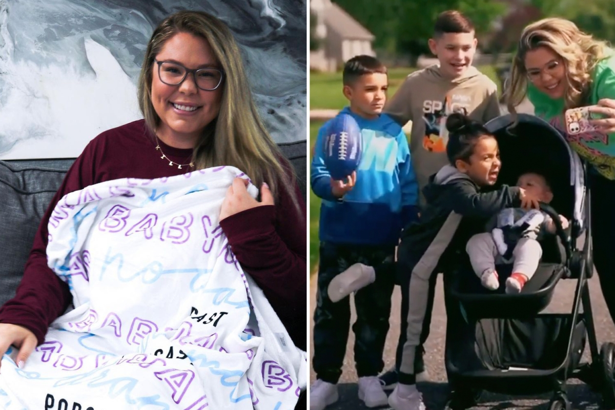 Teen Mom fans slam 'desperate' Kailyn Lowry for 'always hinting she's pregnant' as she posts cryptic baby blanket pic