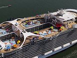 World's largest cruise ship the Wonder of the Seas completes sea trials – and will debut in 2022