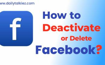 how to deactivate or delete facebook account