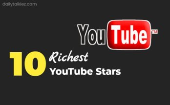 Top 10 Richest YouTubers In the world 2021 | DailyTalkiez