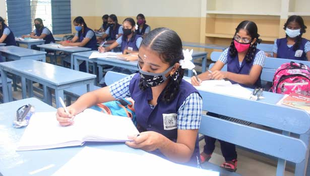 202102080910293661 Tamil News Tamil News schools reopening 9th and 11th student today SECVPF