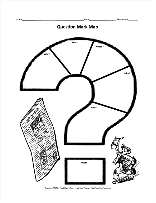 Reading Book Question Mark