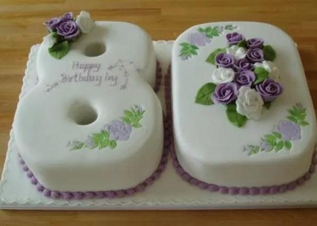 Kue Bentuk Angka