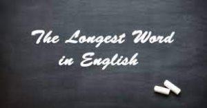 Top 10 Longest Words In English