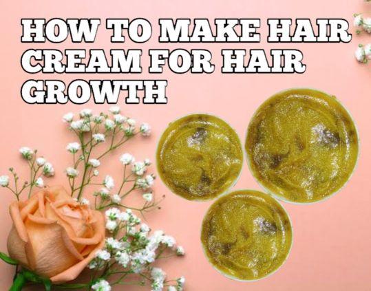 How To Produce Hair Cream