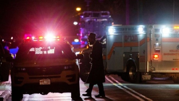 Five stabbed at home of New York rabbi