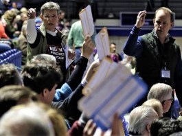 What happened to Iowa caucus results