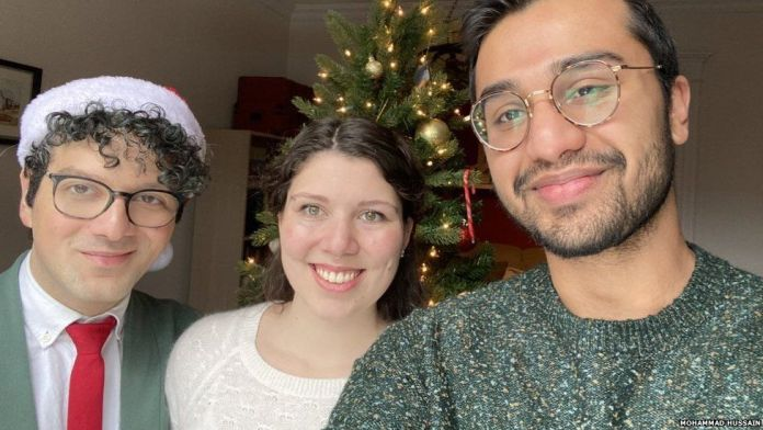 Muslim-Canadian man's 'first Christmas' goes viral