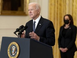 Biden, Harris offering solace to grieving Asian Americans