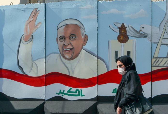 Pope goes to Iraq to rally fading Christians amid pandemic