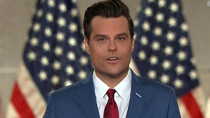 Gaetz showed nude photos of women he said he'd slept with to lawmakers