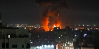 Israel strikes in Gaza after arson balloons launched