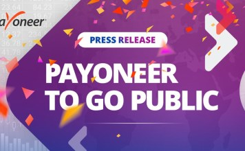 Payoneer is now listed as a publicly traded company