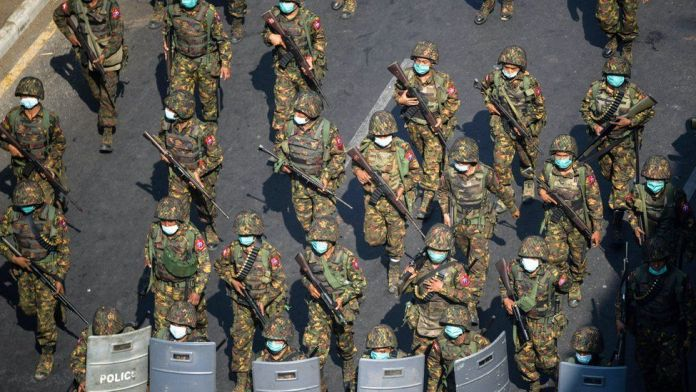 UN calls for arms embargo against military