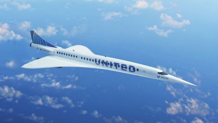 United plans supersonic passenger flights by 2029