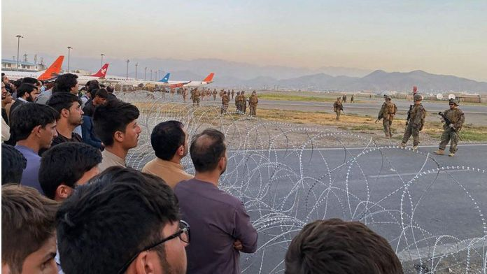 US takes control of Kabul airport to evacuate staff from country