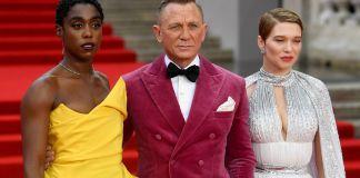 Daniel Craig's last Bond film finally premieres